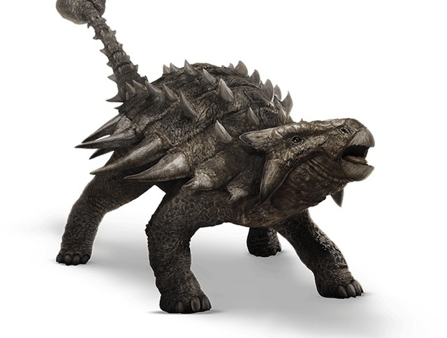 The Ankylosaurus is among the Jurassic World dinosaurs featured in the June release!