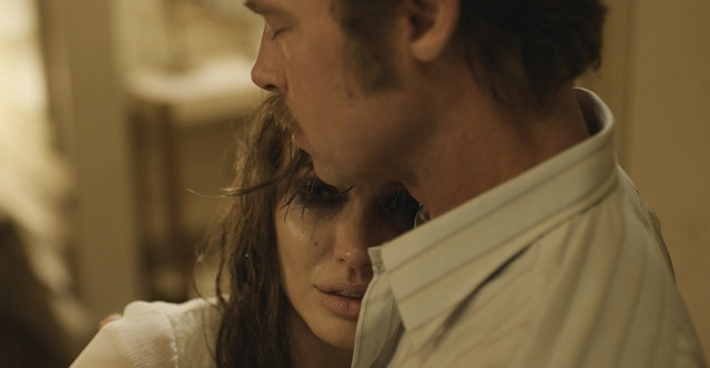 Brad Pitt stars opposite his real life wife in Angelina Jolie's By the Sea.