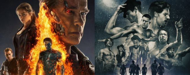 Terminator Genisys will be facing Magic Mike XXL at the box office on the 4th of July.