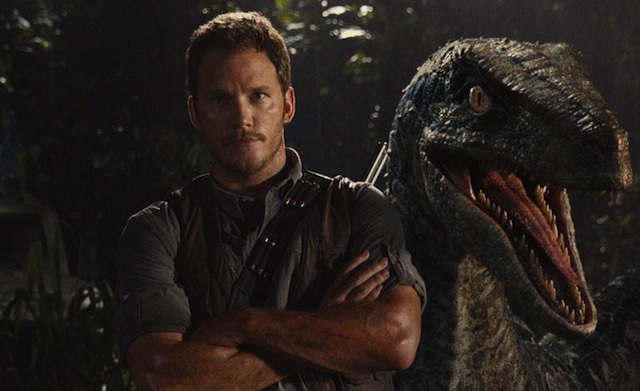 Watch a new Jurassic World clip wherein Chris Pratt attempts to avert a raptor disaster!