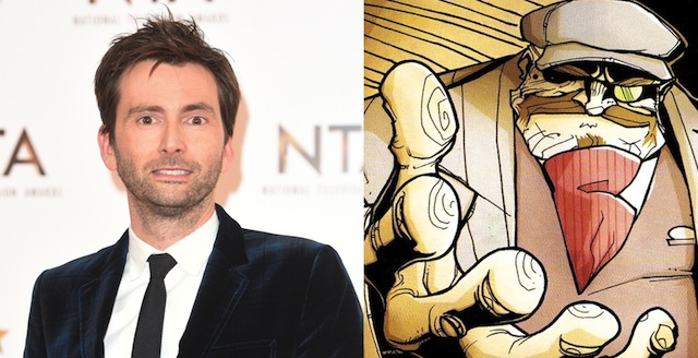 Doctor Who star David Tennant has joined the cast of the Chew movie.