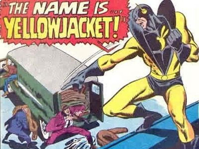 Pym's mental problems first manifested themselves as a Dissociative identity disorder when he made his debut as Yellowjacket in 1968's Avengers #59.