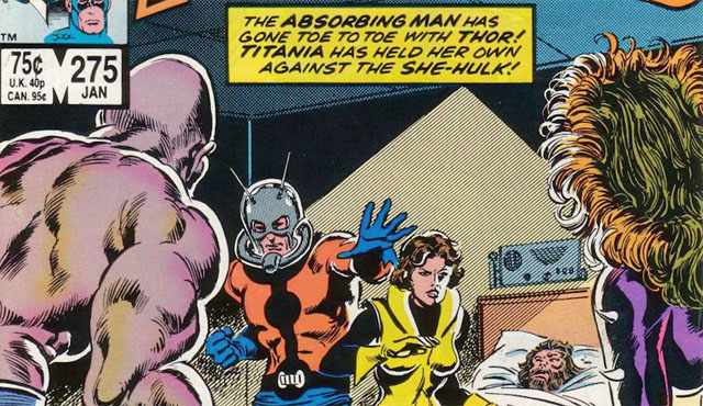 Janet leads the Avengers in our Ant-Man Wasp spotlight.