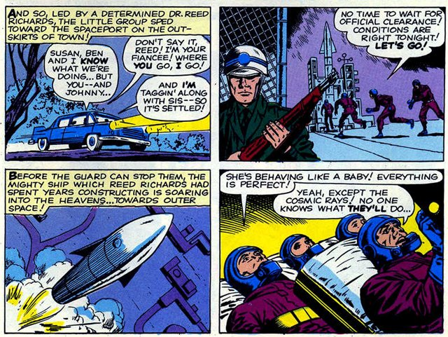 Could the rebels arc from the comics wind up among the Fantastic Four scenes?