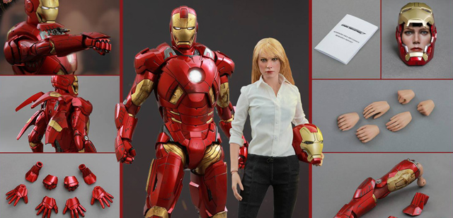 Pepper Potts is the latest Marvel Cinematic Universe character to get a Hot Toys figure.