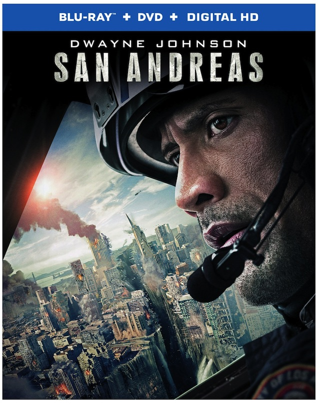 The San Andreas Blu-ray arrives this October.