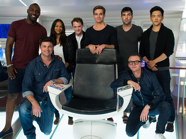 Star Trek Beyond cast launches global Omaze campaign.