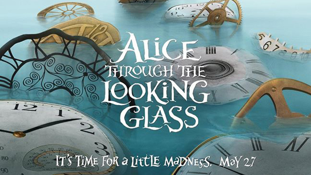 Alice Through the Looking Glass Posters: A First Look at the Sequel!