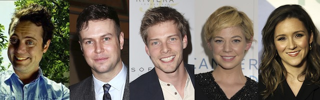 Five more stars have joined The Runaround cast.