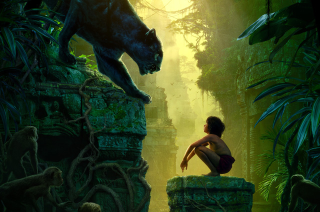 New Triptych Jungle Book Poster: See the First Section Now!