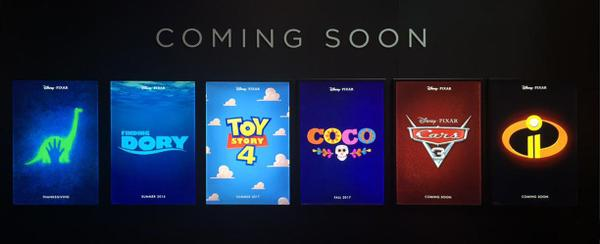 D23 Pixar Animation Presents New Footage From Upcoming