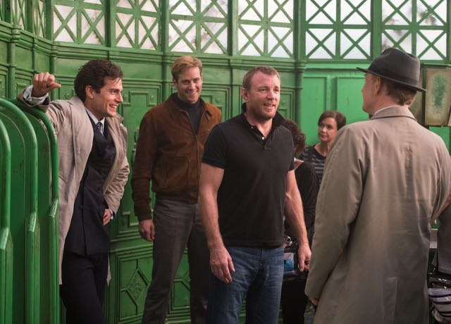 The CS Interview with The Man from U.N.C.L.E. Director Guy Ritchie.