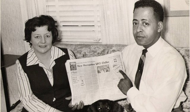 Betty and Barney Hill's alleged alien abduction is the subject of a new film, Captured.