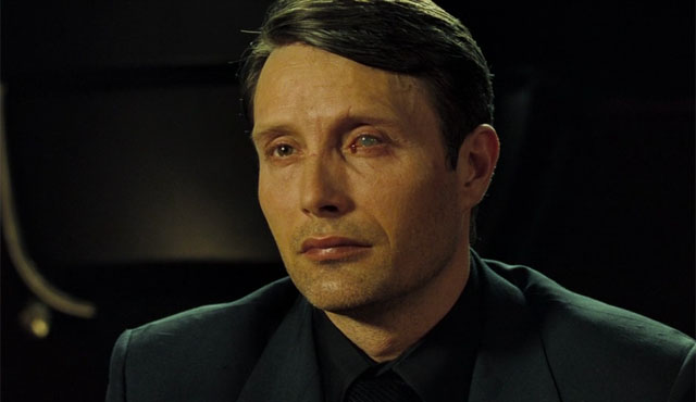 Mads Mikkelsen played one of the James Bond Villains: Le Chiffre!