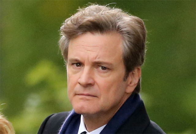 Colin Firth is ... Colin Firth