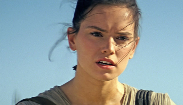 Daisy Ridley is an important part of the Star Wars: The Force Awakens cast.