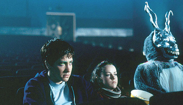Donnie Darko is another of the earlier Jena Malone movies.