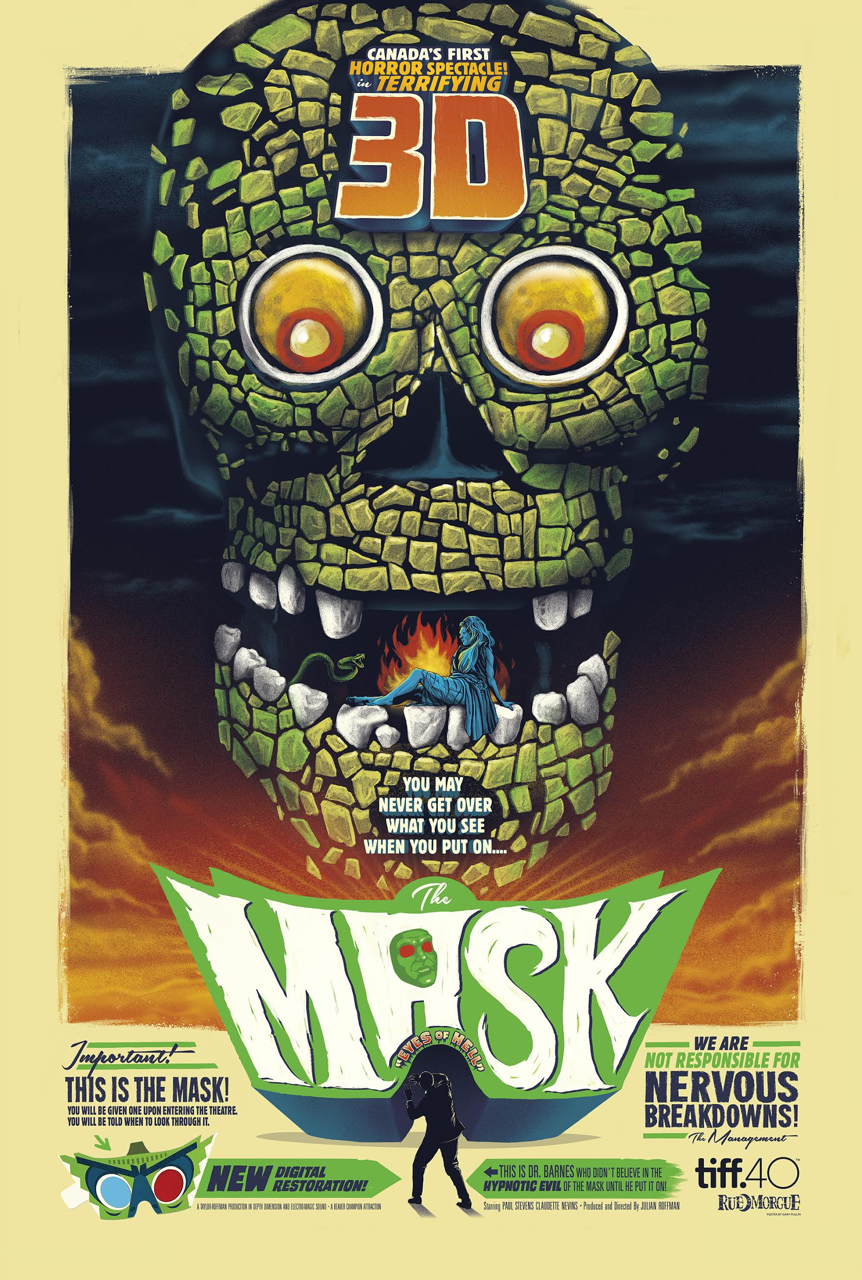 Review: Restored Canadian 3D Horror Classic THE MASK ...