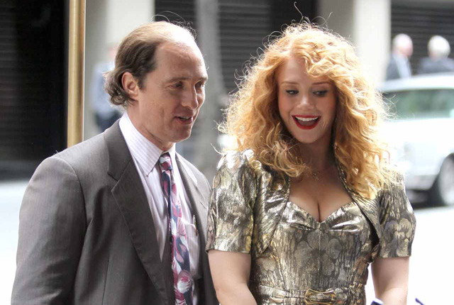 Matthew McConaughey and Bryce Dallas Howard Photos from the Set of Gold.