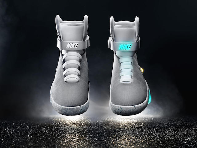 Nike mags will go on sale in 2016.