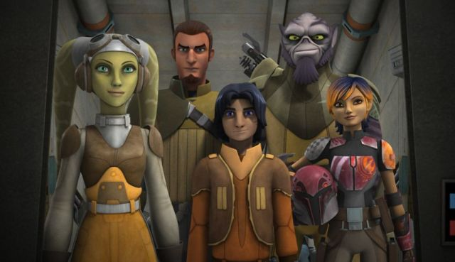 Star Wars Rebels Cast and Crew Talk Season 2 and Clone Wars Connections.