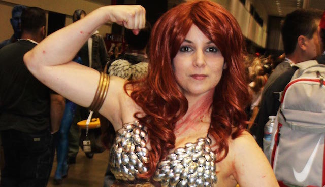 Check out Red Sonja in our Comikaze Expo 2015 cosplay gallery.