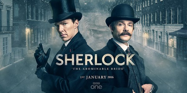 Sherlock: The Abominable Bride Will Air on New Year's Day.