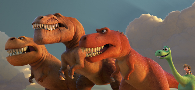 Sam Elliot's Butch the T. Rex appears in two new Good Dinosaur clips.