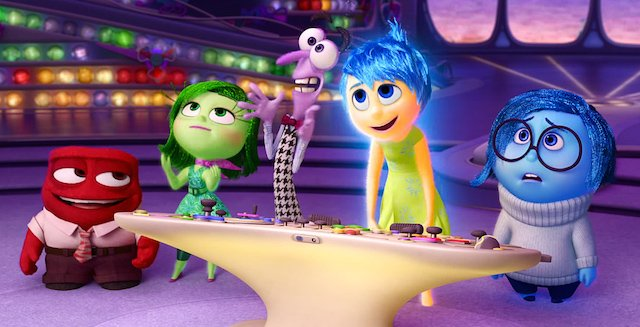 Inside Out comes out on Blu-ray November 3, 2015.