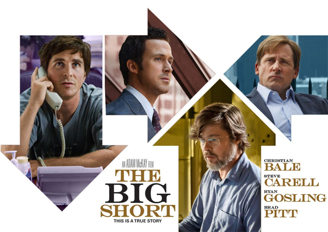 New Big Short Poster and Featurette Revealed.