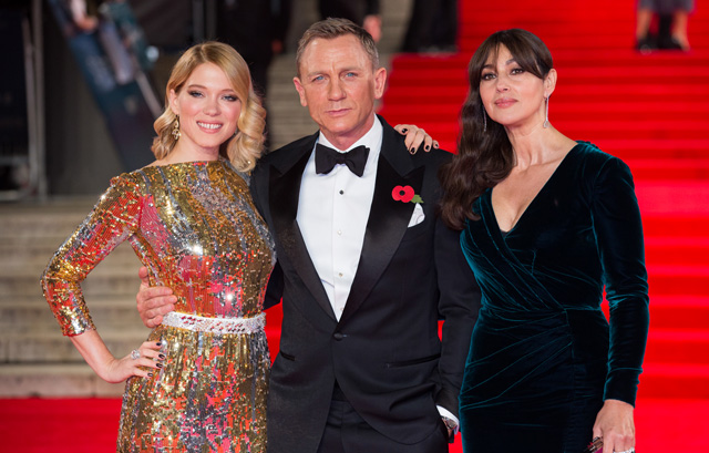 Monica Bellucci and Lea Seydoux talk SPECTRE, Easter Eggs and more.