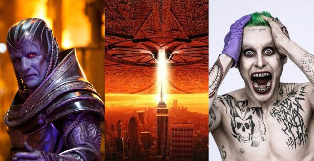 X-Men: Apocalypse, Independence Day Resurgence, and Suicide Squad Trailers Rated