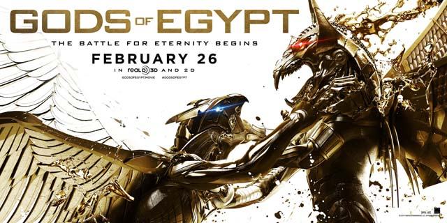 The Gods of Egypt Super Bowl Spot is Here!
