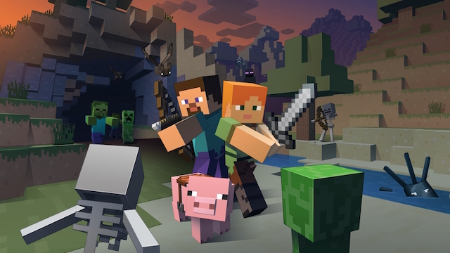 Minecraft is heading to Nintendo's Wii U console with multiple add-on content packs.