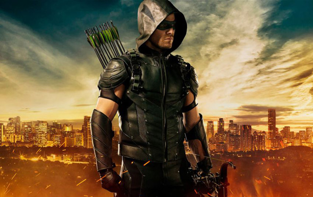 The Sins of the Father are on Display in New Arrow Photos.