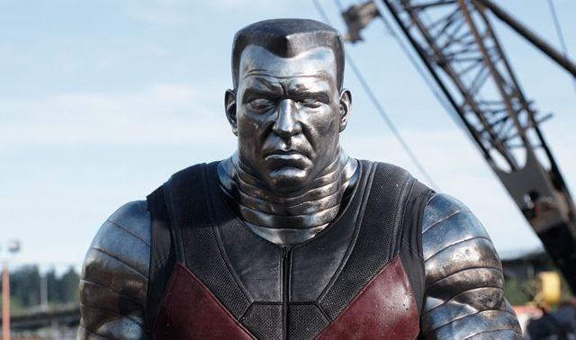 New Colossus Photos from Deadpool Released.
