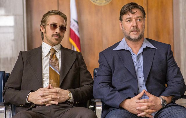 New The Nice Guys movie Trailer Detects Ryan Gosling & Russell Crowe.