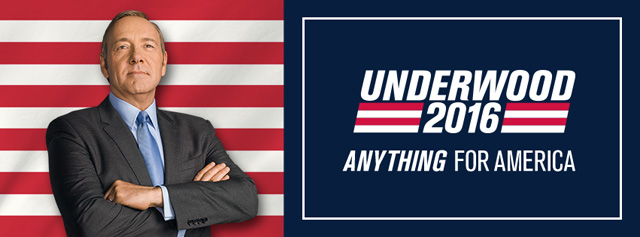 Frank Underwood Kicks Off His Campaign for House of Cards Season 4!