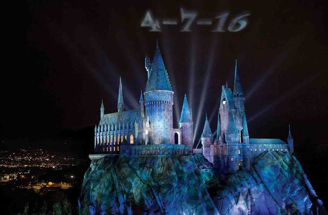 The Wizarding World of Harry Potter at Universal Studios Hollywood Opening in April.
