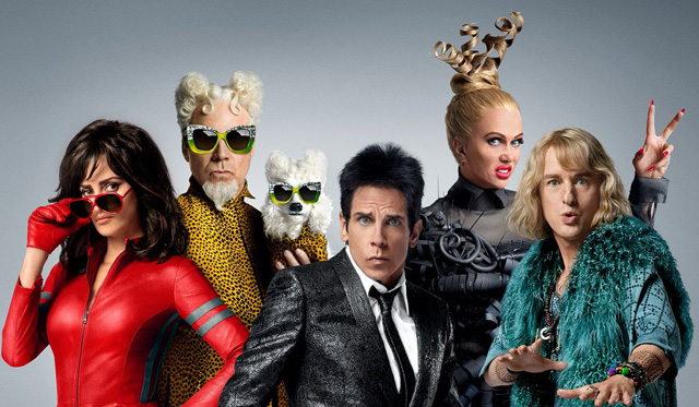 Check out the really, really, really good-looking cast in a new Zoolander 2 motion poster.