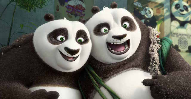 Meet the Kung Fu Panda 3 cast!