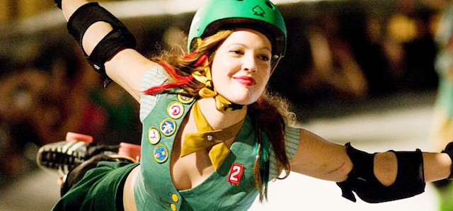Whip It was one of the Drew Barrymore movies that she also directed.