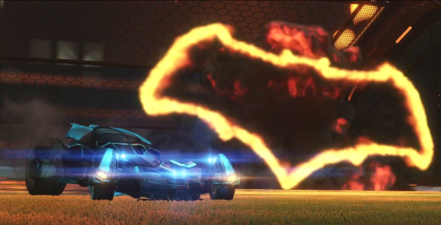 Play as Batman v Superman's Batmobile in New Rocket League DLC