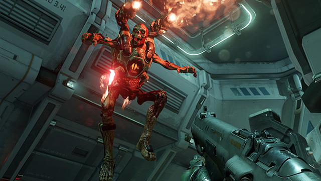 DOOM Release Date Revealed in a Gory New Trailer.
