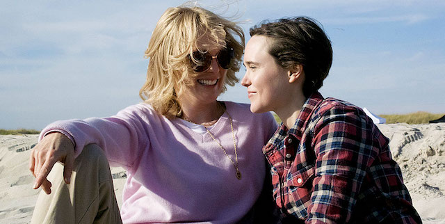 Freeheld is one of the most recent Ellen Page movies.
