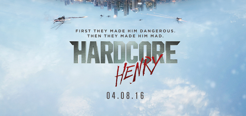 Check out the Hardcore Henry trailer!