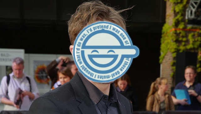 Michael Pitt will play The Laughing Man in the Ghost in the Shell movie.