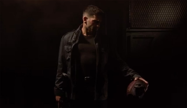 Punisher Teaser for Marvel's Daredevil Season 2.