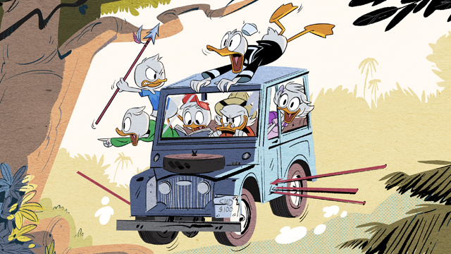 New DuckTales Series Debuts First Image From Disney XD