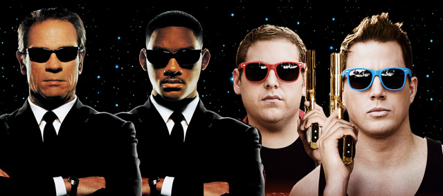 21 Jump Street Men in Black crossover on the way.